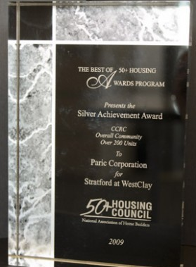 The Best Of 40 Plus Housing Award for Paric General Contractors in St. Louis, MO