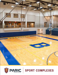Sports Complex Market Brochure by PARIC Sports Construction in St. Louis, MO