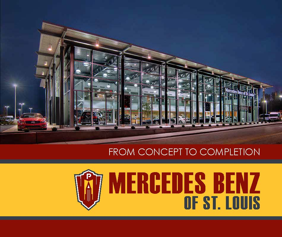 Mercedes Benz of St. Louis completed by PARIC General contractors