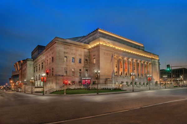 PARIC Corporation, general contractors in St. Louis, Missouri did a great interior build on the Peabody Opera House