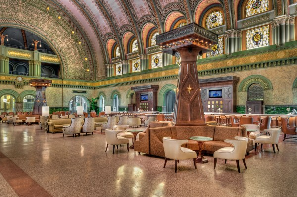 PARIC Corporation, general contractors in St. Louis, Missouri did a great build on the Union Station Grand Hall