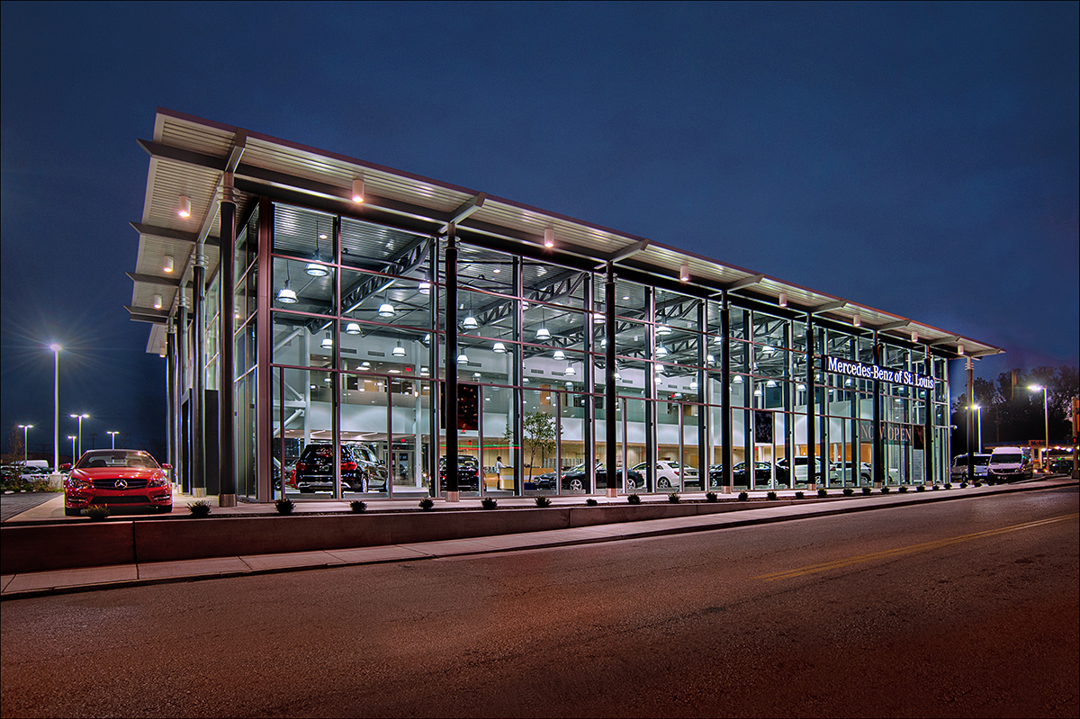 mercedes benz of st louis commercial builder st