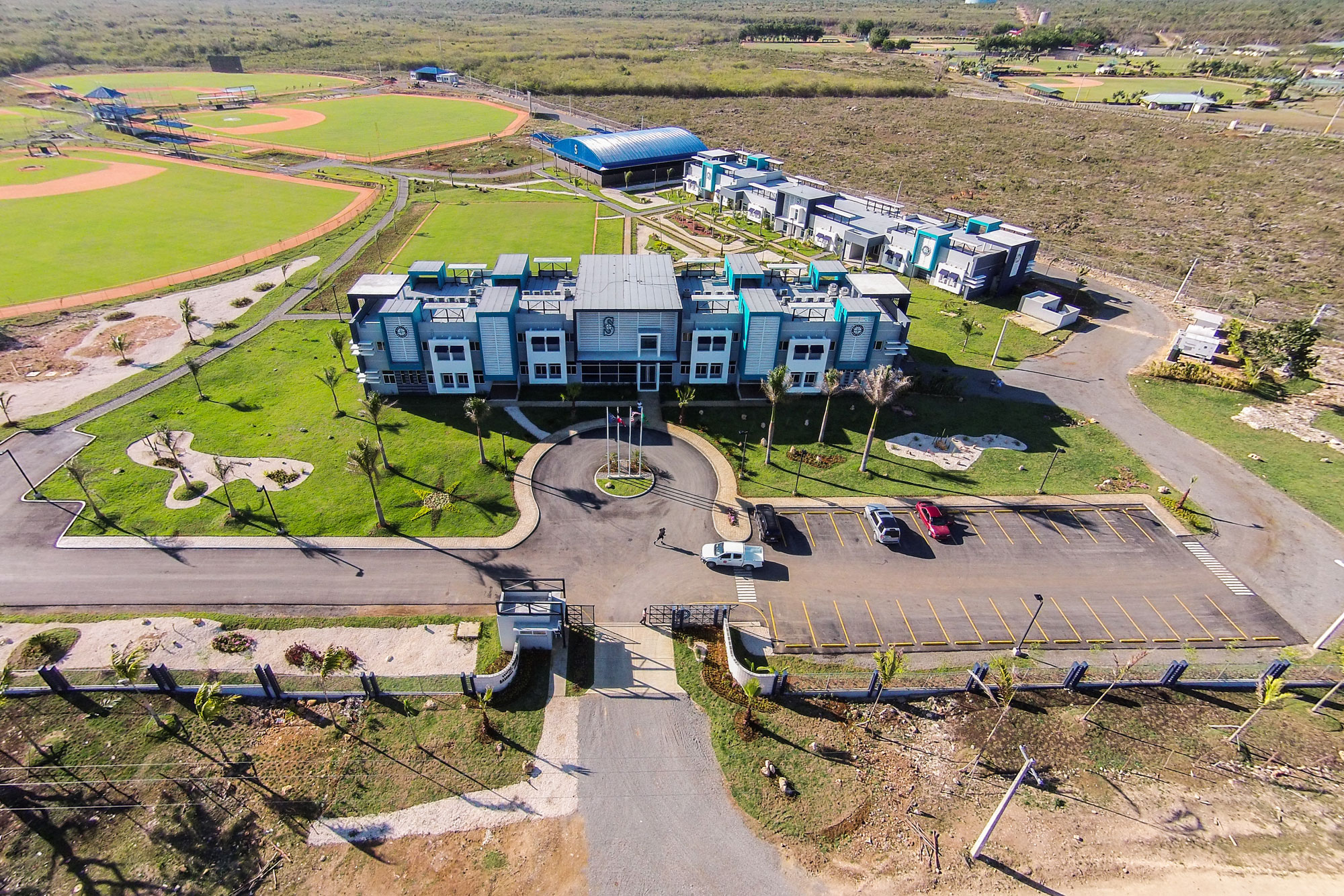 Paric's Project in the Dominican Republic for the Seattle Mariners baseball team.