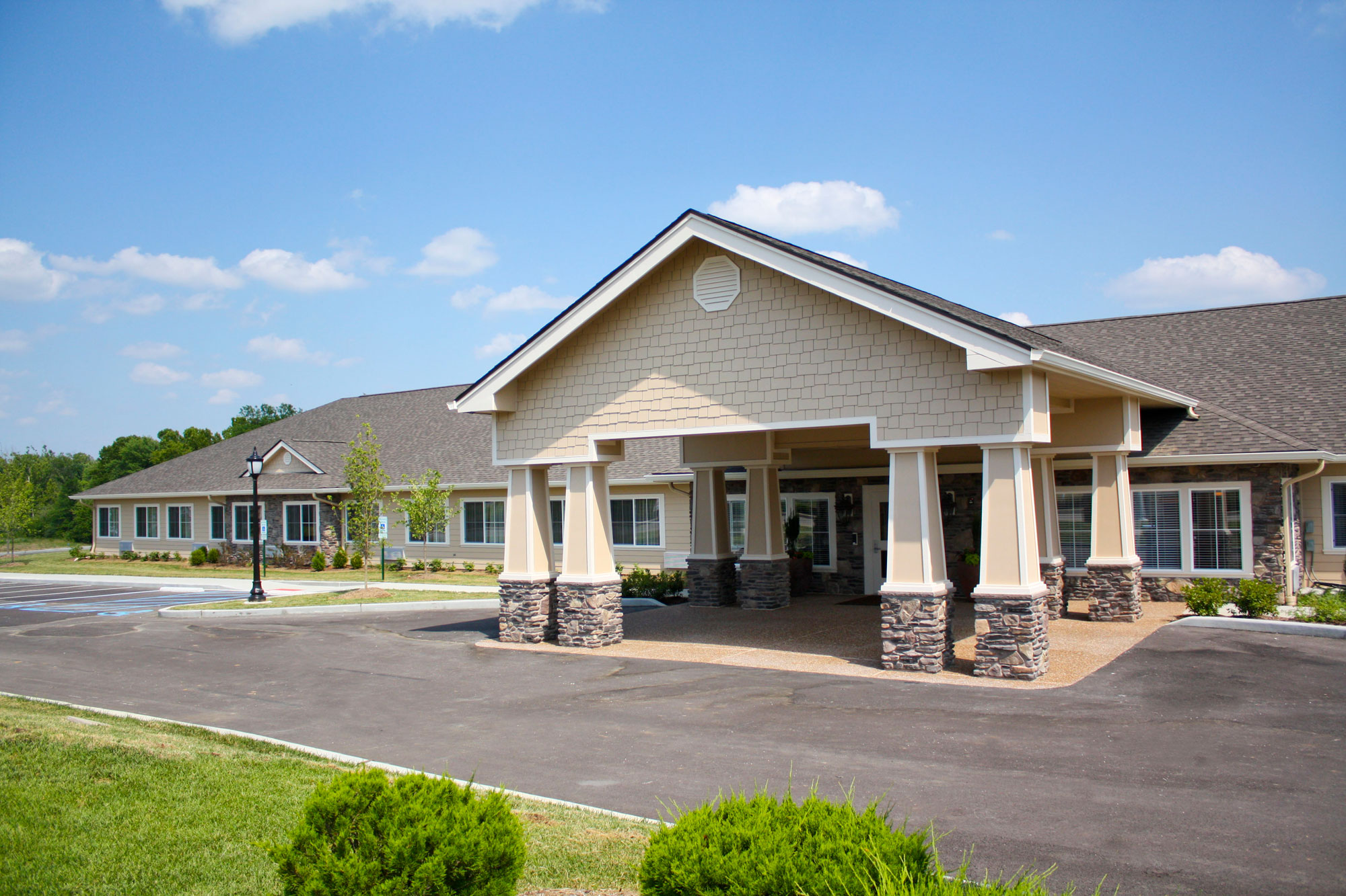 BaratHaven is a memory care facility constructed by PARIC Corp. located in St. Louis MO.