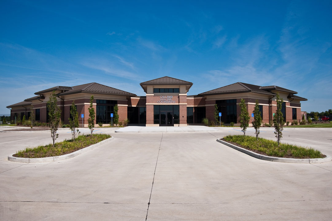 Callaway Electric Cooperative was built to meet LEED certifications, which made it the first green building in Callaway county.