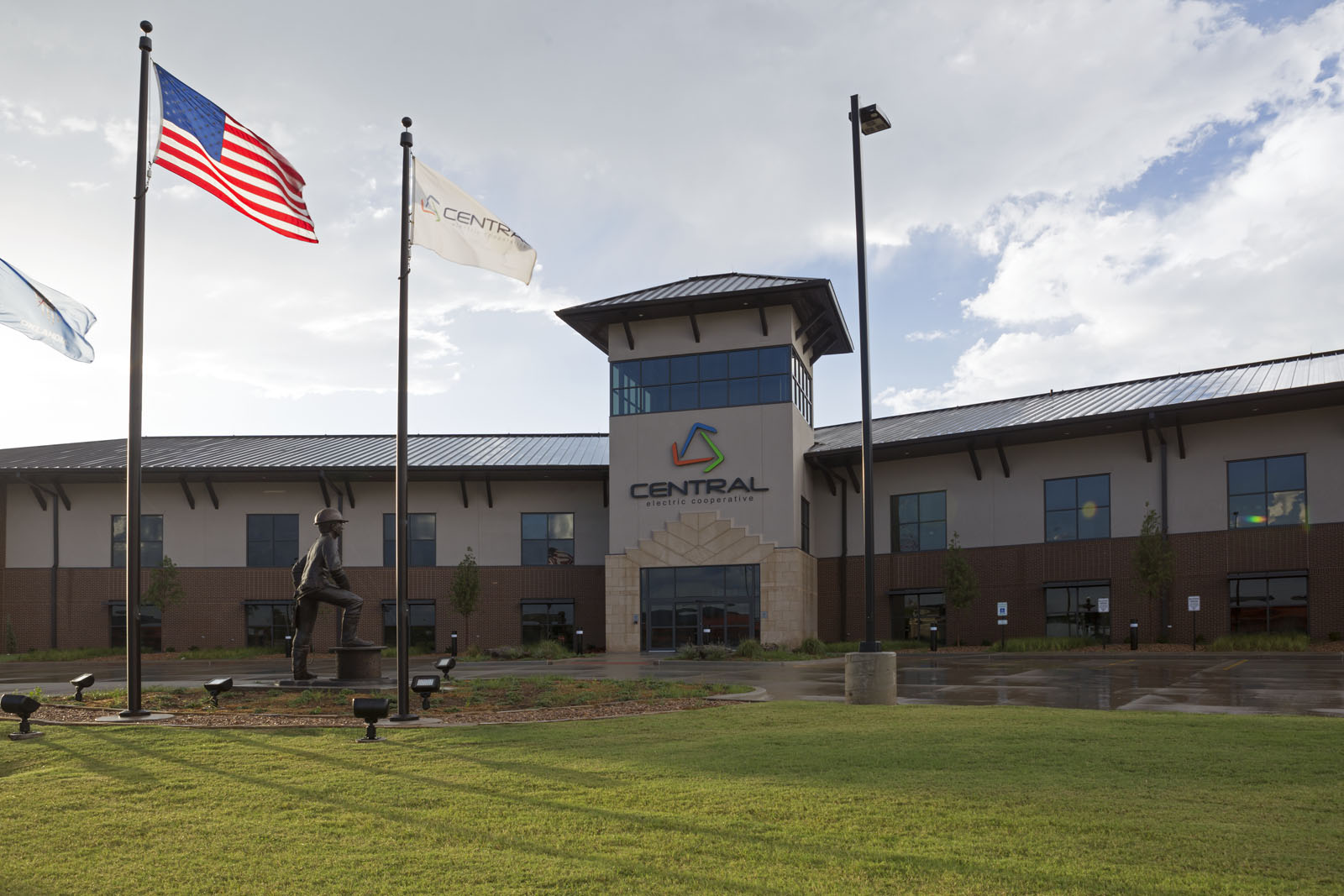 PARIC Corp. finished work on Central Rural Electric Cooperative which consists of 44,000 sq. ft. of administration office space.