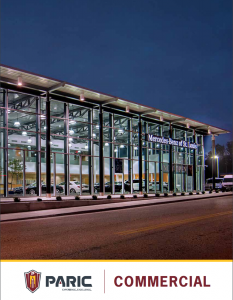 Commercial Market Brochure by PARIC Commercial Contractors located in St. Louis, MO