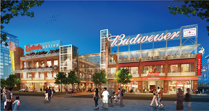 PARIC Corp start Work On Ballpark Village