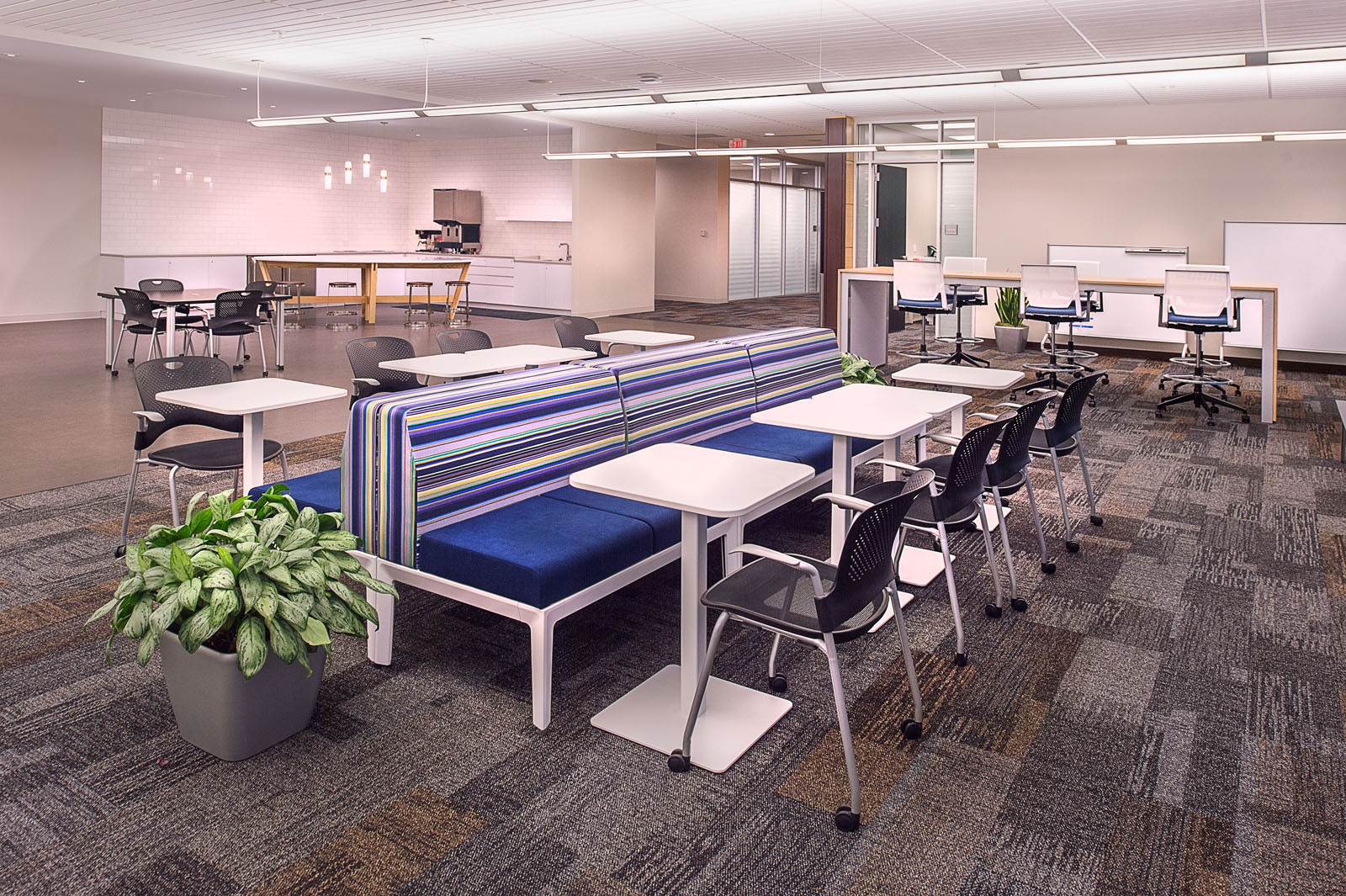 PARIC Corp worked closely with Express Scripts to develop interesting ways for employees to sit and connect with each other.