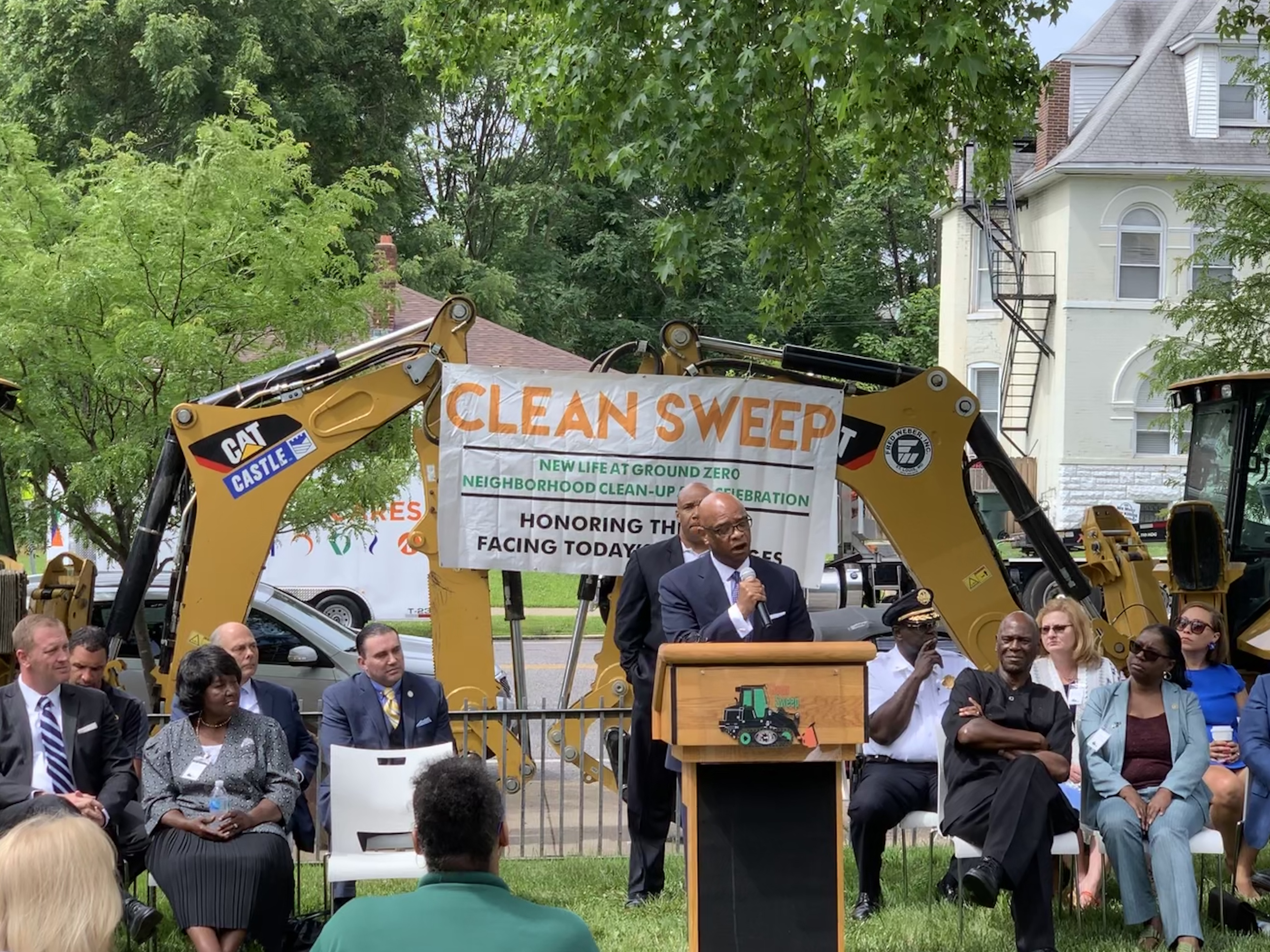 Operation Clean Sweep Press Conference
