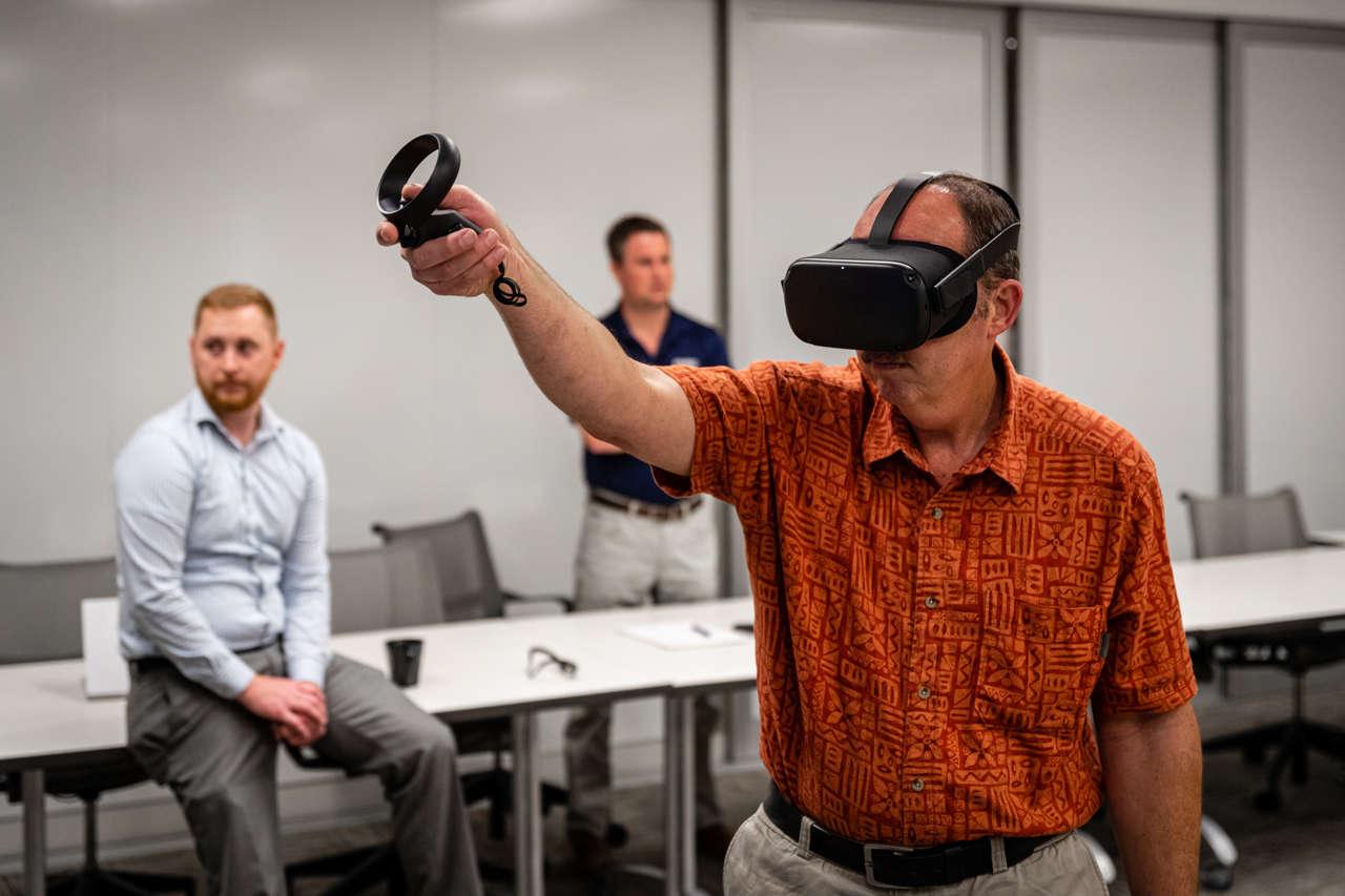 VR modeling